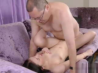 FAT OLD MAN FUCK GIRL 1080P HD