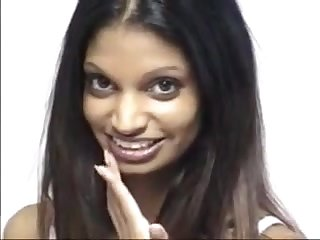 A pretty Indian girl gets had intercourse until she gets a facial