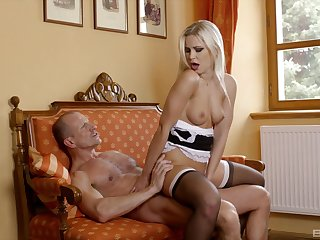 U-turn cock girl with the sexy gal tick she grabs my dick down her hands